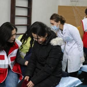 В Алматы прошли Республиканские учения по эвакуации населения «Коныс-2017»